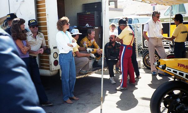Kenny Roberts & entourage