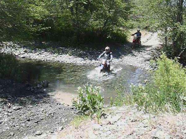 Phillipe & Tina water crossing video