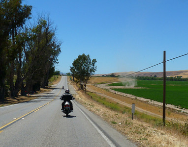 Dust devil on the right