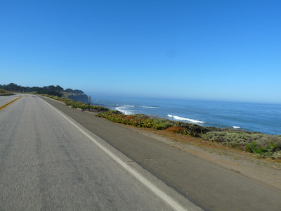 Highway One between San Simeon and Cambria