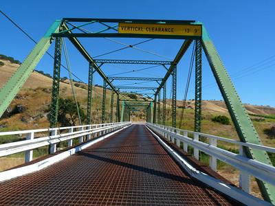 The bridge near that place