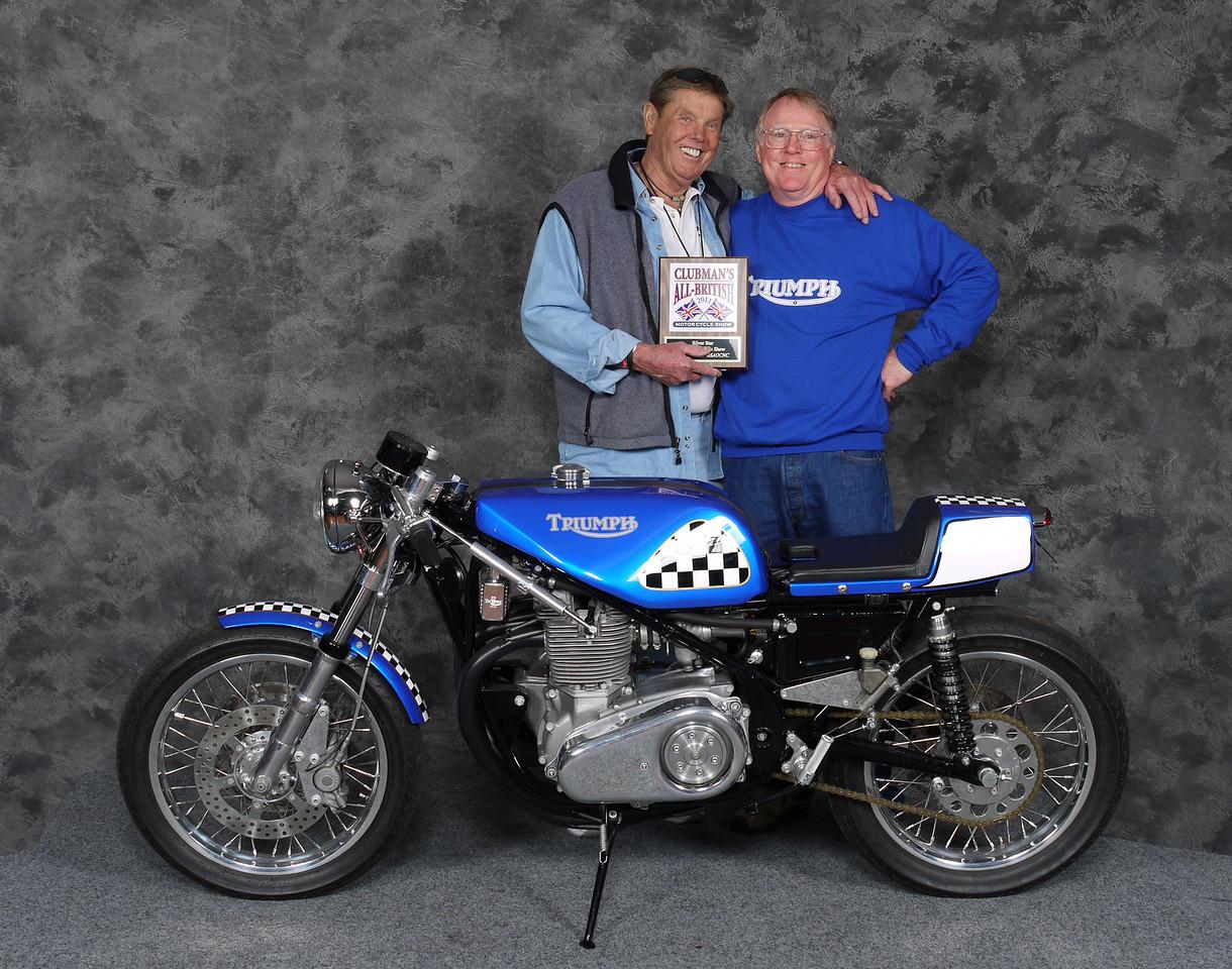 Oscar Murphy, Silver Star award - Cafe Racer, Open - 1970 Triumph T150 Trident