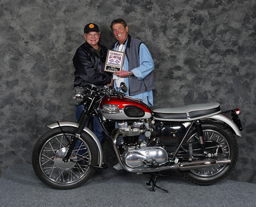 Mike Crick, Silver Star award - Street Heavyweight 620cc-up 1946-1962, Open - 1962 Triumph T120 Bonneville