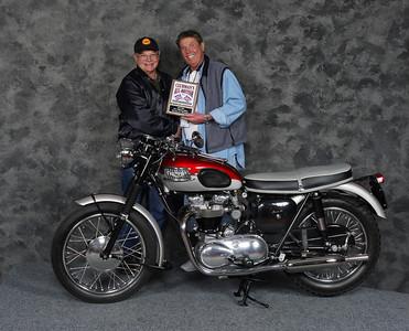 Mike Crick, Silver Star award - Street Heavyweight 620cc-up 1946-1962, Open - 1962 Triumph T120 Bonneville