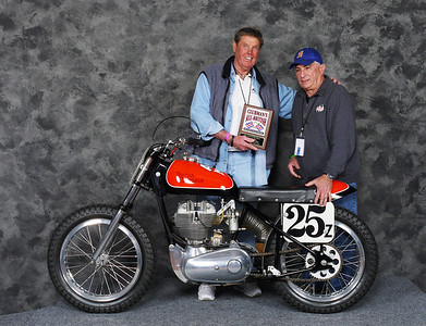 Ray Abrams, Speedway/Flattrack/TT 1946-1983, Open - 1964	Royal Enfield Fury Flat Tracker