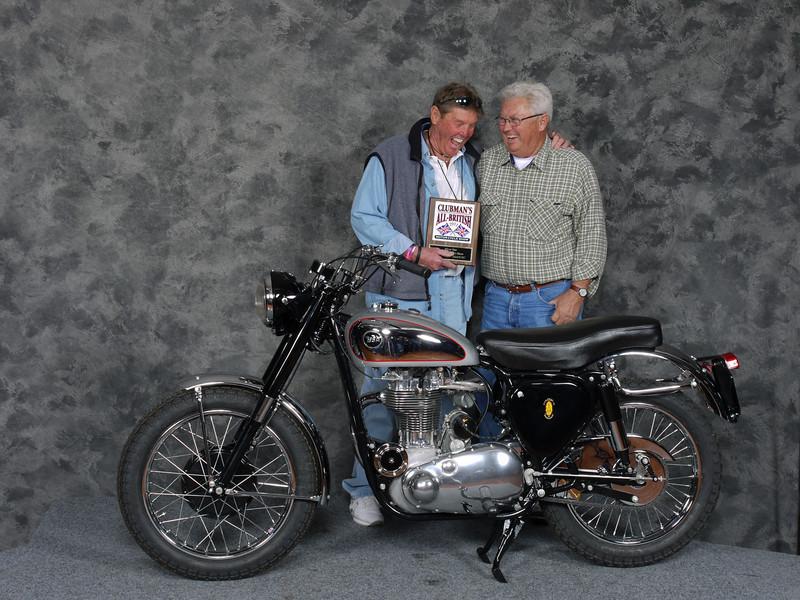 Doug Teeter, Silver Star award, Street Middleweight 500-620cc 1946-1962, Production - 1953 BSA Gold Star