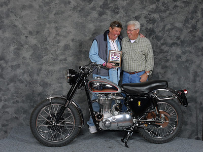 Doug Teeter, Silver Star award, Street Middleweight 500-620cc 1946-1962, Production - 1953 BSA Gold Star