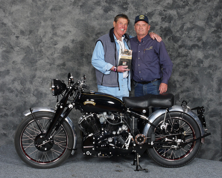 Bob	Ives, Best Vincent - 1950 Vincent Black Shadow