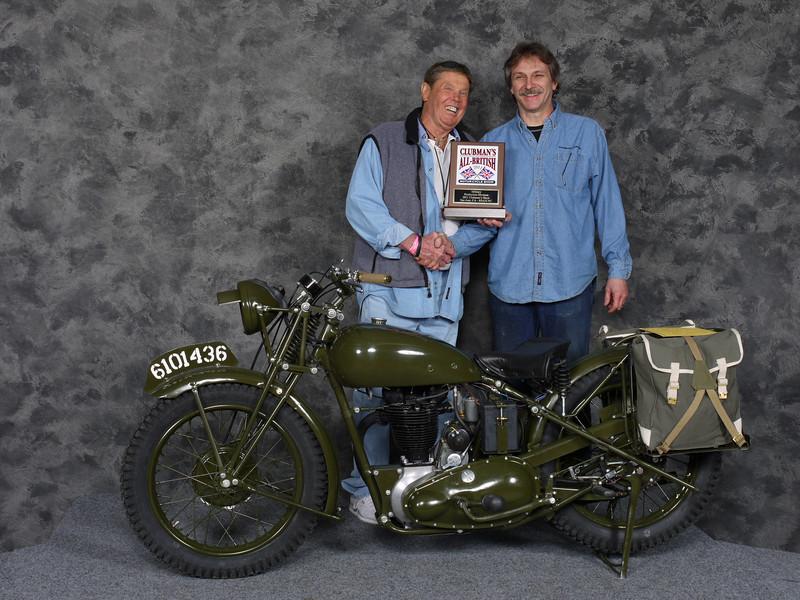 Eric Chappelle, Military 1900-1983, Production - 1945 Triumph 3HW