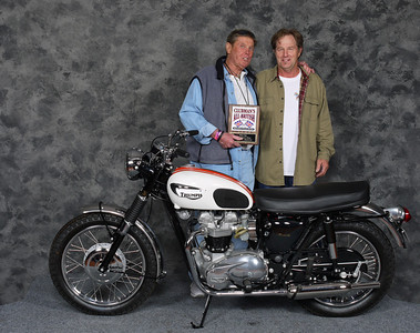 Ray McCurdy, Silver Star award, Street Heavyweight 620cc-up 1963-1970, Production - 1966 Triumph T120 Bonneville