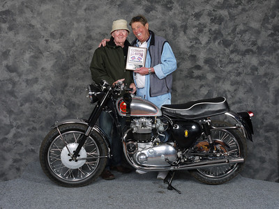Ron Shaw, Longest Distance (El Paso, Texas) - 1962 BSA Rocket Gold Star Replica