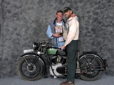 Jeff Scott, PreWar, Open - 1939 Royal Enfield KX 1140