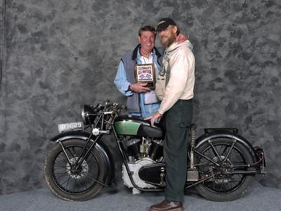 Jeff Scott, PreWar, Open - 1939 Royal Enfield KX 1140