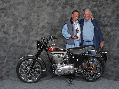 Tom O'Callaghan, Best BSA Gold Star - 1956 BSA Gold Star DBD 34