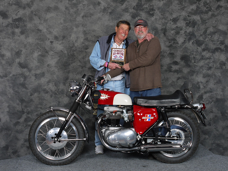 Don Johnson, Silver Star award, Street Heavyweight 620cc-up 1963-1970, Production - 1967 BSA Spitfire MK III