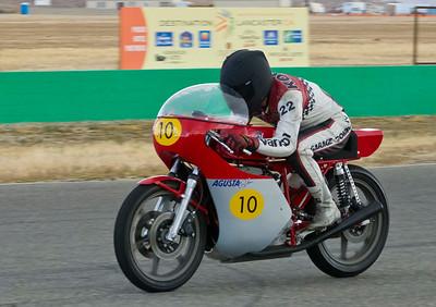 Yoshi Kosaka on his MV Agusta racer