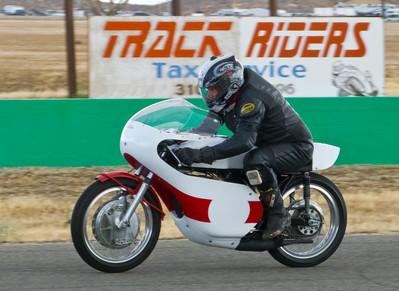 Marcelo Doffo on his Yamaha TD3 racer