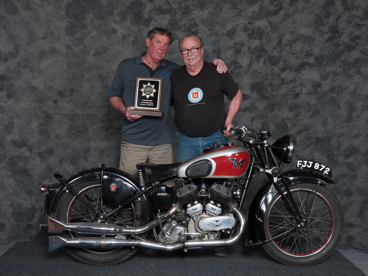 1940	Matchless	Model X	Winner:	Fred	Mork	Class: 	Preservation 1900-1945, PreWar Production