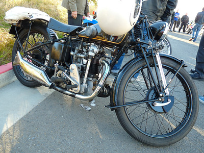 Lovely Velocette