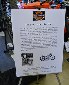 Harley CAC information sheet