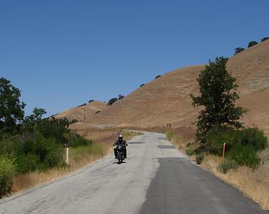 Vinyard Canyon Rd toward San Miguel