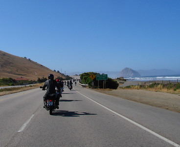 Highway One in Morrow Bay