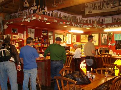 Inside the Parkfield Cafe