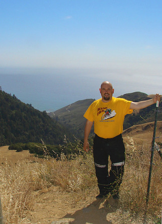 Above the Big Sur coastline