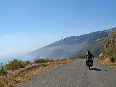 Coming down to Highway 1, Big Sur