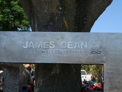 James Dean Memorial in Cholame