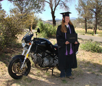 The Graduate & her Duc