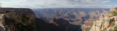 180 degree panorama of the Grand Canyon