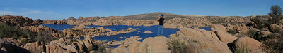 Prescott AZ lakeside panorama