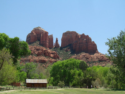 The backside of Bell Rock