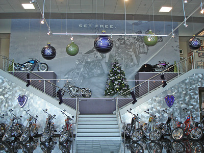 Alen Ness's dealership and bike collection / museum in Dublin, CA