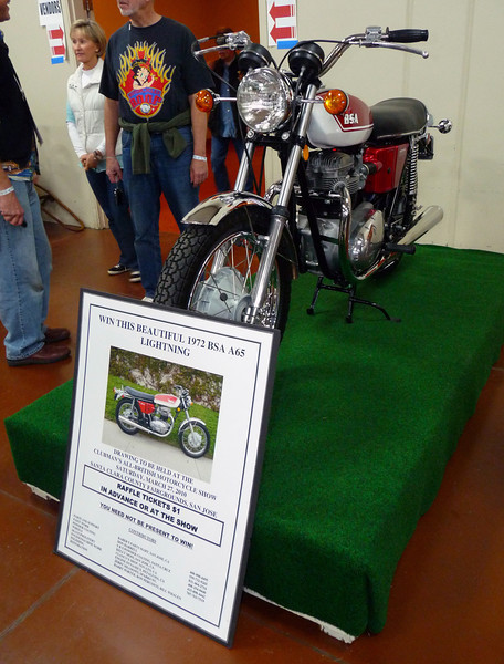 The raffle bike I planned to win