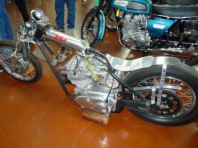 BSA triple drag bike