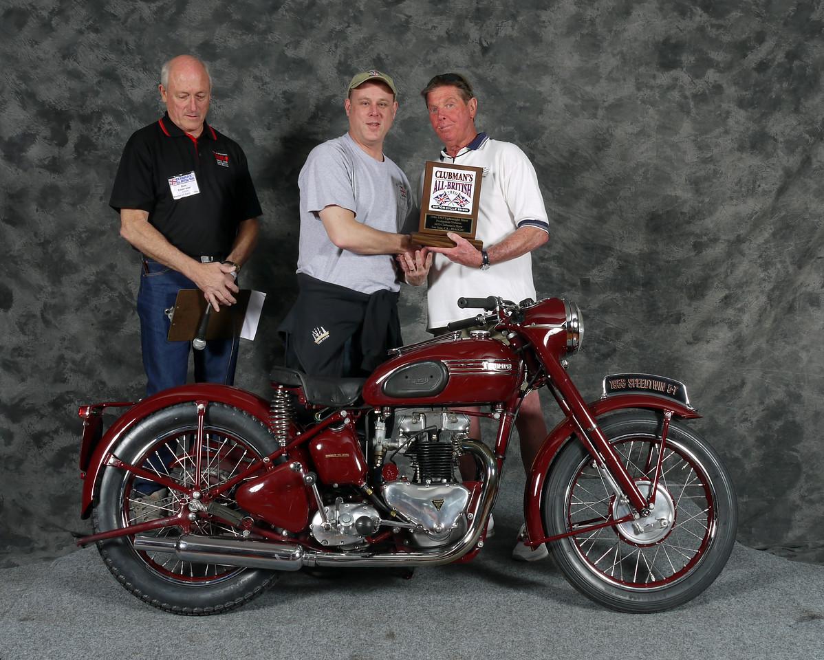 Ken Wheadon, Street Middleweight 1946-1962, Production. 1953 Triumph Speed Twin 5T