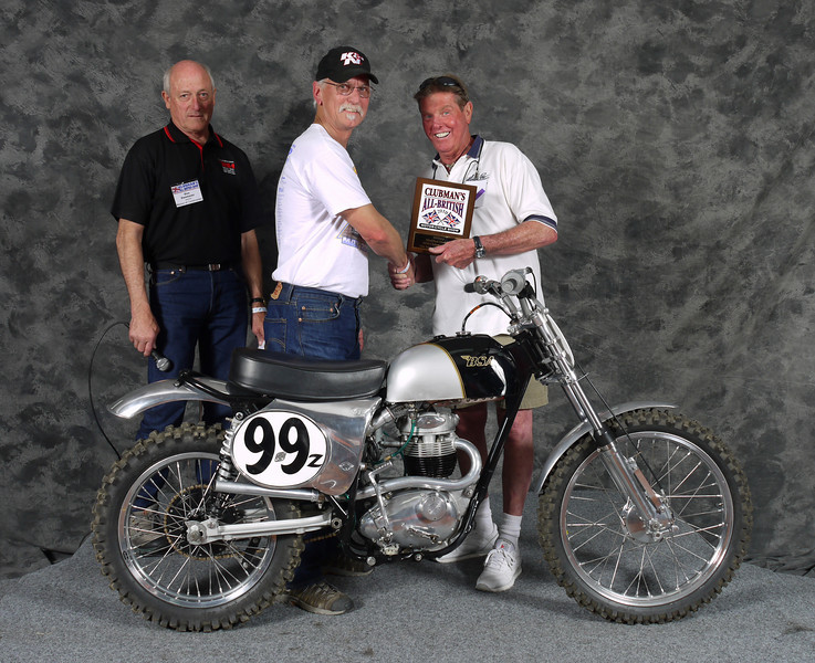 Honorable Mention, Barry Brown, BSA B40 Scrambler