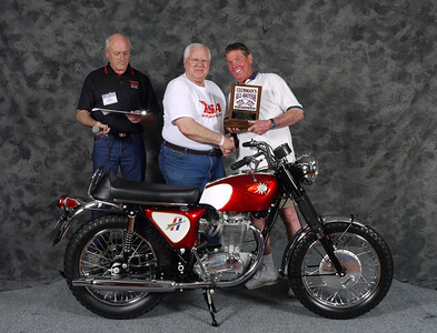 Phil Davis, Street Lightweight, 1963-1970, Production. 1968 BSA B44 Shooting Star