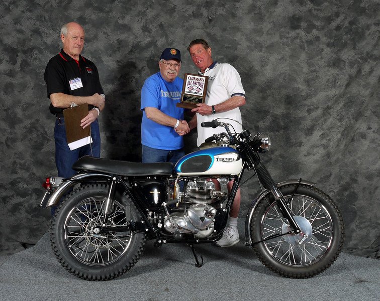Wayne Ross, Street Middleweight 1963-1970, Production. 1967 Triumph T100C