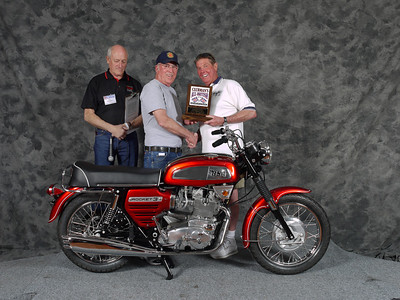 Bill Whalen, Street Heavyweight 1963-1970, Production. 1969 BSa Rocket Three