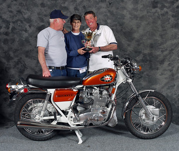 Bill Whalen, Grand Champion Multicylinder. 1971 BSA Rocket 3
