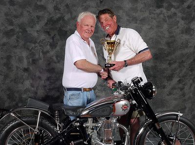 John Niesley, Grand Champion Single / Best Gold Star Award. 1950 BSA Gold Star