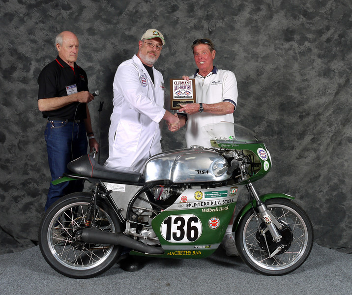 Ron Halem, Roadrace 1946-1983, Modified. 1960 BSa Gold Star Manx Racer