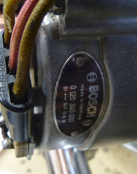Alternator part code, same as on 70's BMW R Series