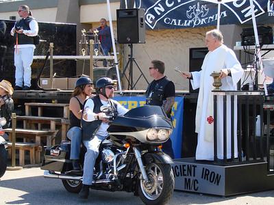 Blessing of the Bikes, Easter Sunday