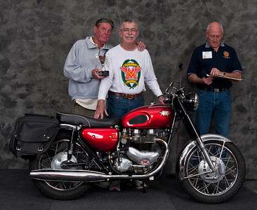 Paul Allen, 1966 Matchless G12CSR. Winner Best AJS/ Matchless
