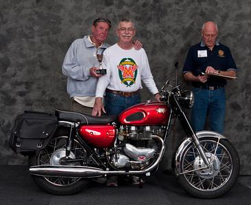 Paul Allen, 1966 Matchless G12CSR. Winner Best AJS/ Matchless