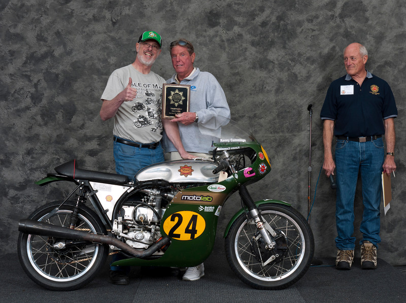 Ron Halem; 1960 BSA Gold Star Manx Racer.  Class: Roadrace, Open